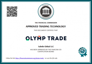 olymp trade licence